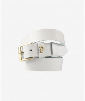 P Leatherbelt Pin