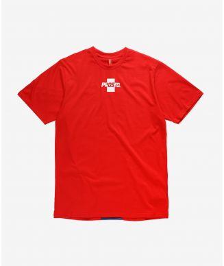 T-shirt Shistrip Red