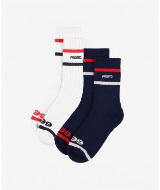Socks Uncla White/Blue