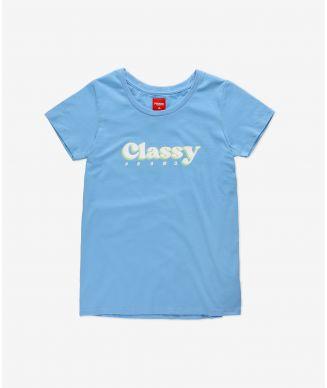 T-shirt Traffi Soft Blue